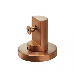 20mm High Copper Finish Stainless Steel Toilet Cubicle Legs