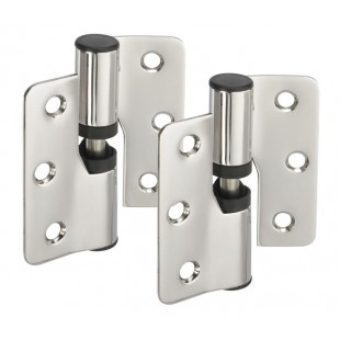 Polished Stainless Steel Toilet Cubicle Gravity Hinges