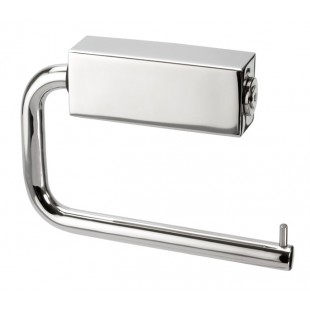 Polished Stainless Steel Toilet Roll Holder