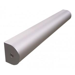 D Section Headrail 4M in Satin Anodised Aluminium