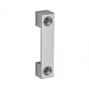 Cubicle Outward Opening Keep U Shaped for 13mm to 20mm Partitions