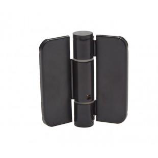 Matte Black Finish Adjustable Sprung Cubicle Hinges
