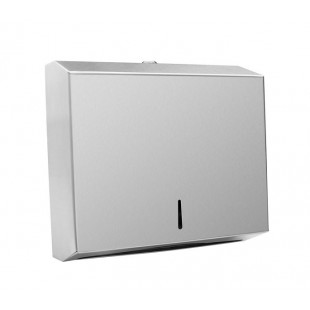 Stainless Steel Wall Mounted Paper Towel Dispenser