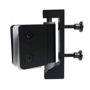 Black Toilet Cubicle Pivot Hinge