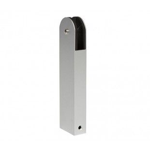 Aluminium 150mm High Curved Partition Support Leg
