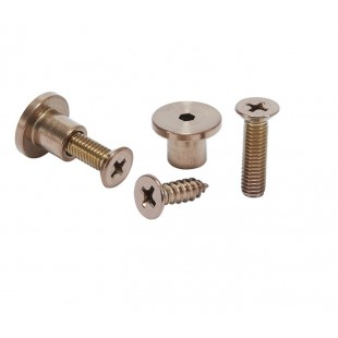 Toilet Cubicle Screw Fitting Pack for 20mm Partition