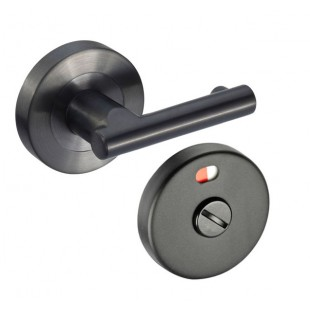 Matte Black Stainless Steel Pilaster Turn and Indicator
