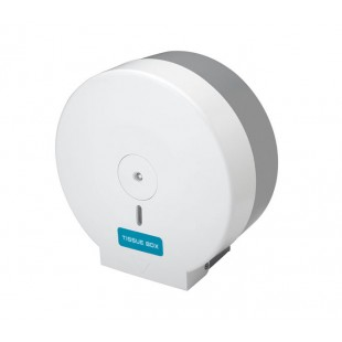 White Wall Mounted Toilet Roll Holder for Commercial Toilets