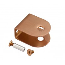 Copper U Shaped Stainless steel Cubicle Brackets for 20mm
