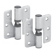 Satin Stainless Steel Toilet Cubicle Gravity Hinges