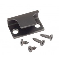 Matte Black Stainless Steel U Shaped Keep for Cubicles