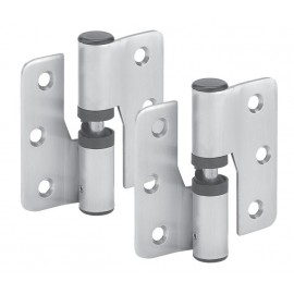 Cubicle Hinges Satin Stainless Steel 80mm Toilet Cubicle Gravity Hinges