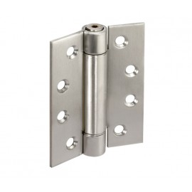 Cubicle Hinge Satin Stainless Steel 4 Inch Adjustable Sprung Cubicle Hinge