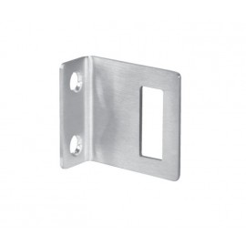 Cubicle Lock Keep Satin Stainless Steel Angle Lock Keep for 13mm Partition