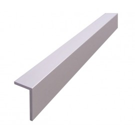4m Angle Headrail for Cubicle with Satin Anodised Aluminium Finish