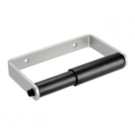 Toilet Cubicle Toilet Roll Holder with Satin Anodised Aluminium Finish