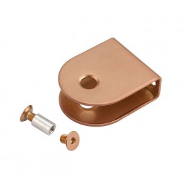 Copper U Shaped Bracket for 13mm Cubicle Partition