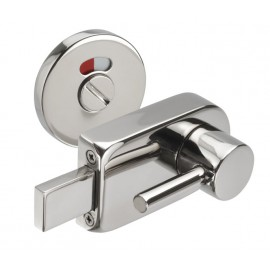 Disabled Toilet Door Lock with Polished Stainless Steel Disabled Indicator Bolt