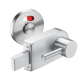 Disabled Toilet Door Lock with Satin Stainless Steel Disabled Indicator Bolt