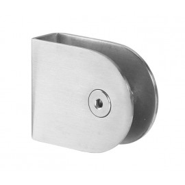Cubicle U Bracket with Satin Stainless Steel Finish for 13mm Cubicle Partition