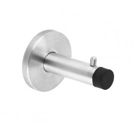 Cubicle Hook for Glass Cubicles in Stainless Steel