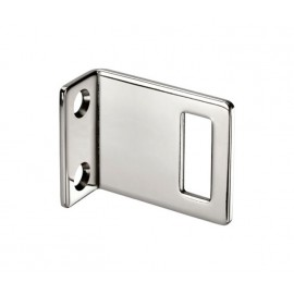 Cubicle Lock Keep Polished Stainless Steel Angle Lock Keep for 20mm Partition