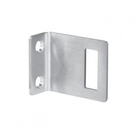 Cubicle Lock Keep Satin Stainless Steel Angle Lock Keep for 20mm Partition