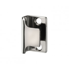 Cubicle Lock Keep Polished Stainless Steel U Shaped Lock Keep for 13mm & 20mm Partition