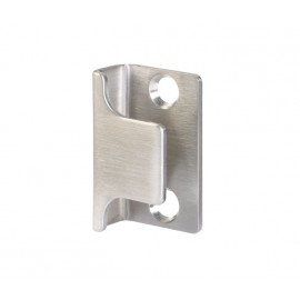 Cubicle Lock Keep Satin Stainless Steel U Shaped Lock Keep for 13mm & 20mm Partition
