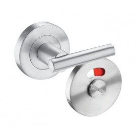 Toilet Cubicle Locks with Extended Lever Turn for use with Mortice Deadbolt
