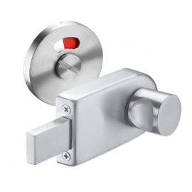 Toilet Cubicle Locks with Satin Stainless Steel Indicator Bolt and Release