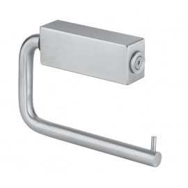 Toilet Cubicle Toilet Roll Holder with Satin Stainless Steel Finish