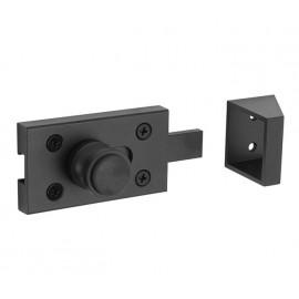 Matte Black Toilet Indicator Lock with Keep
