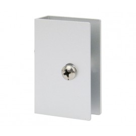 Square Toilet Cubicle U Bracket for 13mm Partition