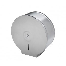 Stainless Steel Toilet Roll Holder with Satin Finish for Cubicles