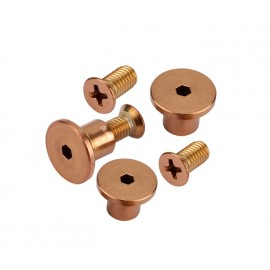 Copper Bracket fixing pack for 13mm Pilasters