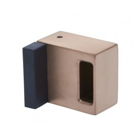 Copper Cubicle Lock Keep with Buffer for 20mm Partition