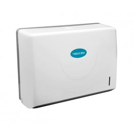 White Wall Mounted Paper Towel Dispenser